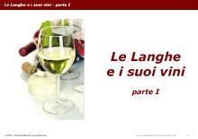 Le Langhe e i suoi vini - parte I