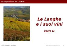 Le Langhe e i suoi vini - parte II