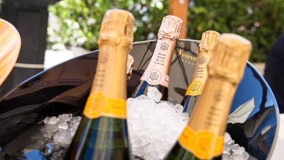 Champagne ad Alassio