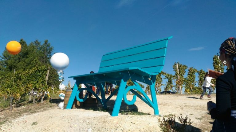panchina azzurra cassinasco